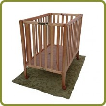 Foldable playpen Compacto 95x80cm  - Playpens and Walkers