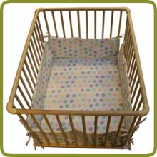 Rectangular playpen insert dots - Playpens and Walkers, Safety Gates and Playpens