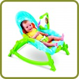 Wunderwelt 2-in-1 Swing Chair Deluxe - Cradles and Bouncers