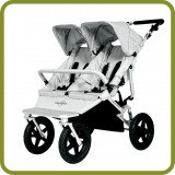 Twin Pram Sky DUO Silver - Prams and Pushchairs