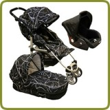 3in1 Drive & Walk system black - Prams and Pushchairs