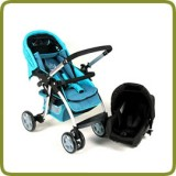 Drive & Walk travel system blue - Prams and Pushchairs