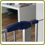 Extension 7cm for safety gates Yael, Lily, Nora Silver-Blue - Safety Gates and Playpens
