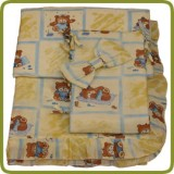 Bedlinen set yellow seven-part - Beds