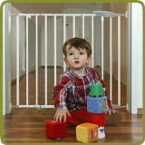Safety gate Elia 71,5cm - 106cm, metal, white - Safety Gates and Playpens, Promo