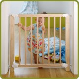 Safety gate Lea 69.5-78cm, wood - Safety Gates and Playpens