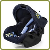 Baby car seat Zero Plus spring navy - Car Seats