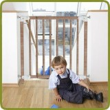 Safety gate Clic Clac Plus 69.5-106.5cm, wood - Safety Gates and Playpens