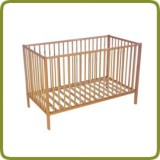 Child's bed Heidi, 120x60, beech - Beds