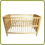 Wooden cot bed Deluxe 120 x 60 cm  - Beds