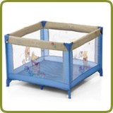 Travel cot / playpen Dream'n Play SQ Patch Pooh Ciel - Beds