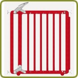 Safety gate Nina red - Safety Gates and Playpens
