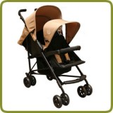 Tandem pushchair sand - Prams and Pushchairs