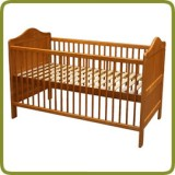 Child´s bed Louise, 140x70 cm, convertible - Beds