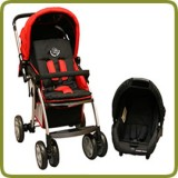 Drive & Walk travel system red - Prams and Pushchairs