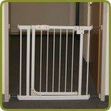 Safety gate Auto-close 75-88 cm white - Safety Gates and Playpens