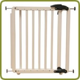 Safety gate Nina 69.5-104cm, wood, white - Safety Gates and Playpens