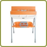 Foldable Changing Table - Baby Bath Tub Combination - Bathing and hygiene