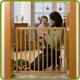 Safety gate Maya 63,5-105,5cm, wood - Safety Gates and Playpens, Promo