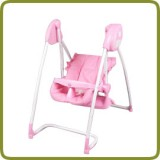 2 in 1 Highchair & electrical Baby Swing rose Homey  - Highchairs and baby chairs