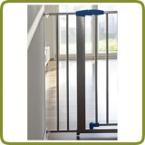 Extension 18cm for safety gates Yael, Lily, Nora Silver-Blue - Safety Gates and Playpens