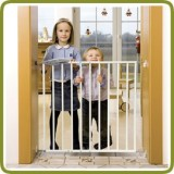 Safety gate Timy 74.5-108.5cm, metal, white - Safety Gates and Playpens, Promo