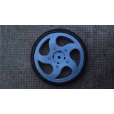 Back wheel ALU pram - Spare parts