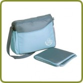 Diaper bag with changing pad blue - Prams and Pushchairs, Promo