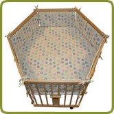 Hexagonal playpen insert dots - Playpens and Walkers, Sleeping and relaxing, Safety Gates and Playpens