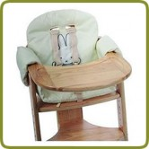 Tiamo high chair insert cream