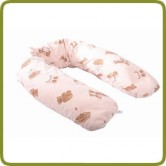 Nursing pillow 170 cm bear pink