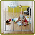 Safety gate Vasco 72-79cm, metal, white - Safety Gates and Playpens, Promo