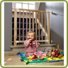 Safety gate Clic Clac 71-109.5cm, wood - Safety Gates and Playpens