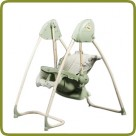 2 in 1 Highchair & electrical Baby Swing green Homey - Highchairs and baby chairs